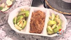 Biscoff Apple Dip and Lime Apples