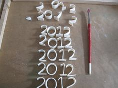 how-to: gum paste letter making