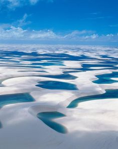 Lençóis Maranhenses (Brazil). 'I was not prepared for the stunning sandscapes of Parque Nacional dos Lençóis Maranhenses, where translucent blue lagoons are the only blemish on a never-ending horizon of windswept dunes. Near Atins, I visited an isolated lagoon and had it all to myself for as long as I wanted.'