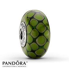 Pandora Green Exotic XL Charm