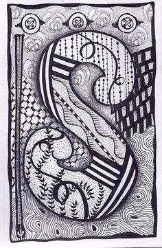 Zentangle, Letter S