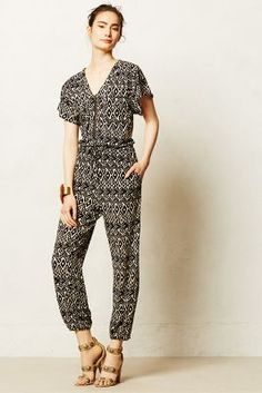Kinda hope jumpsuits never go out of style. Perfect mix of chic + casual.