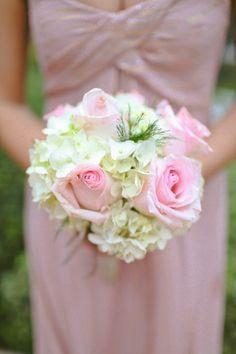 Nicole Miller pink bridesmaid dress by hayleylord.com