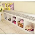 Ana White | Build a Rolling Cubby Bench | Free and Easy DIY Project and Furniture Plans
