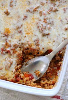 Easy Macaroni Casser