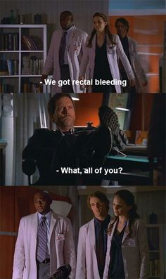 Dr. House being Dr. House