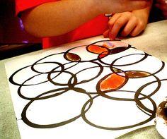 kid fun, circl, messiest project, kid art, k12 art, crafti crafti, art projects, art rooms