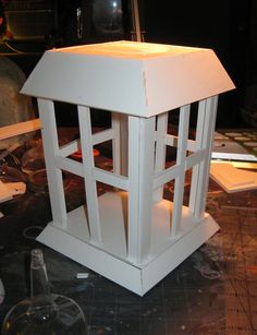 DAVE LOWE DESIGN the Blog: O'Treaty's Foamcore Lantern: Part One