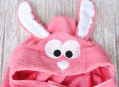 Bunny hooded towel =]