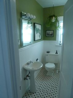 period style bathroom