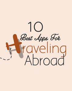 apps for traveling abroad.