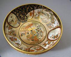 Satsuma bowl. Kaizan