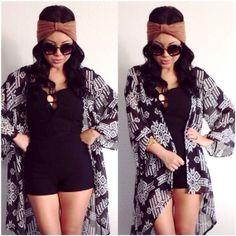 Tribal kimono cardigan by ShopUBB on Etsy find more women fashion ideas on www.misspool.com