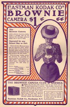Brownie Camera from Eastman Kodak.