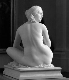 James Pradier (Swiss-born French painter and sculptor, 1790-1852)  Odalisque, 1841, Marble