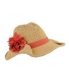 floral trimmed cowboy hat.... love!