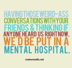 How many of these conversations have we had!?