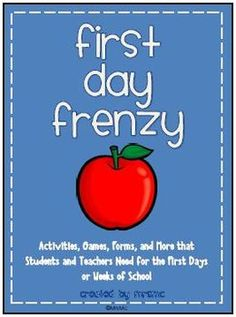 20 First Day of School Activities and Resources for Students and Teachers!#Repin By:Pinterest++ for iPad#