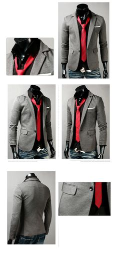 Slim Fit Men New Fashion Blazer