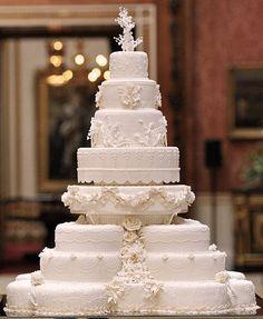 Torta de bodas de 8 pisos