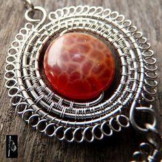 Firestarter - a necklace of wire chirirgického