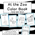 At the Zoo Book {Emergent Reader}This is a great book to add to your zoo theme! The sight words included are: I, see, a, an, at, & the.  The animal words are also included. 1.50