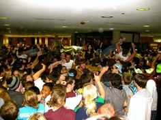 Coates Library Flash Rave: This is one of the University's more recent traditions (started in Spring of 2009), though it has gained significant traction among students. The tradition happens every semester during finals and gives stressed-out students a short break from studying.