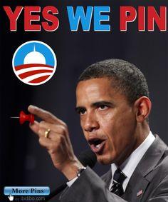 Yes We Pin - Obama