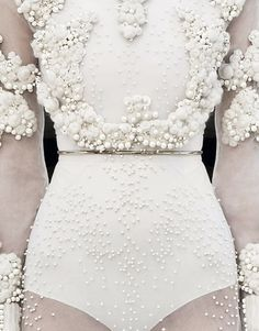 perfection wedding dressses, detail, fashion, pearls, givenchy, dresses, givenchi, white, haute couture