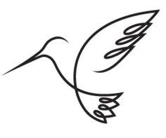 Hummingbirds symbolize love, joy, and beauty. Tattoo idea!!... adding a hummingbird to my orchid ☺
