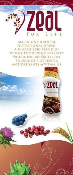 Vitamins, Antioxidants, Detox, Energy. Have YOU heard about the Zeal For Life Challenge? drblake.zealforlife.com