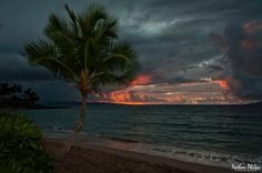 Ominous Sunset Over Napili | Hawaii Pictures of the Day