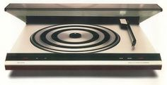 Beogram 3400 turntable, plays both stereo & quadraphonic LPs, designed by Jacob Jensen, 1975