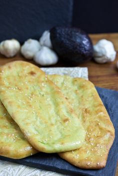 Avocado naan bread from @Keepinitkind