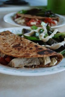 Turkey and Feta Quesadillas