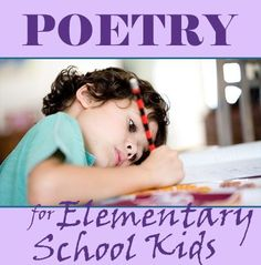 Children can learn so much from poetry. See today's #LearningToolkit blog for tips on reading and writing poetry with elementary school-aged kids. Click for details.