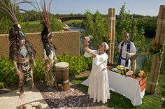 Traditional Mayan Wedding at Banyan Tree #wedding #mexico #mayan