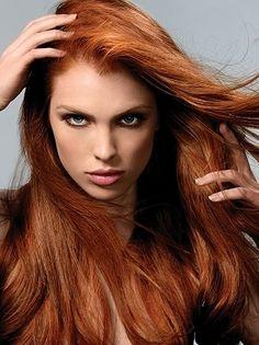 Natural Red Hair... I think...