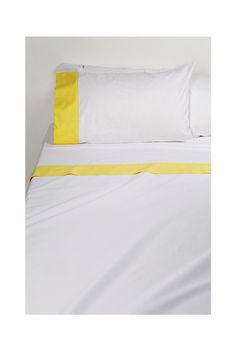 [country road] contrast sheet set - for guest room (yellow theme)