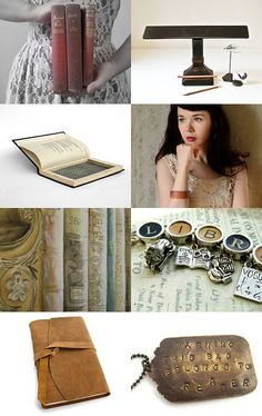 The Bibliophile  ~  Gifts for the book lover!