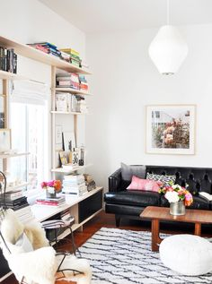 Such a chic living room — love @sfgirlbybay / victoria smith / victoria smith's style!