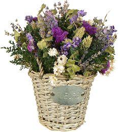 LAVENDER LANE DRIED FLORAL ARRANGEMENT - ENGLISH LAVENDER - FLOWERS