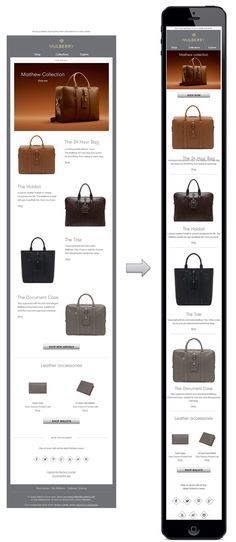 Mulberry Responsive Email Design