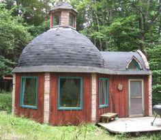 Funky domed tiny house...