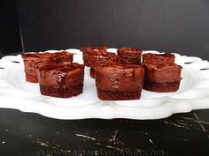 Mocha Hazelnut Mini Cheesecakes with Brownie Crust and a Giveaway!