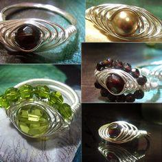 jewelry tutorials, bead ring, awesom jewelri, wire wrapped rings jewelry, wire rings, diy ring, wire wrap jewelry, wire wrapped rings tutorial, ring wire