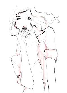 Garance Dore - Fashion Illustration