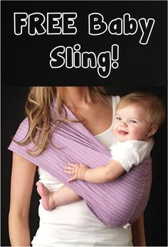 FREE Super Cute Baby Sling!  {just pay shipping} ~ these make great gifts, too!
