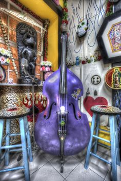 Purple Cello by Vasco Casquilho ~ love