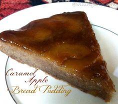 Caramel Apple Bread Pudding appl bread, caramels, breads, bread puddings, apple bread, caramel apples